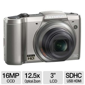 Olympus SZ-20 Full HD Digital Camera  REFURB