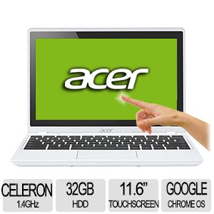 "Acer 11.6"" Touchscreen Chromebook - NX.MKEAA.001"