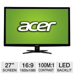 "Acer G276HLGbd 27"" Class LED Monitor"