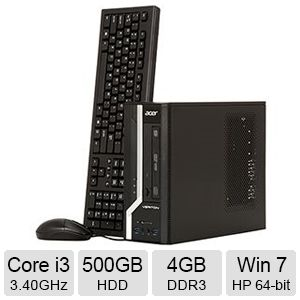 Acer Veriton Core i3 4GB 500Gb HDD Desktop PC