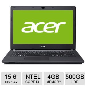 "Acer Aspire Core i3, 4GB DDR3L, 500GB, 15.6"" Laptop"
