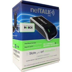 NETTALK VoIP VOICE OVER INTERNET DEVICE