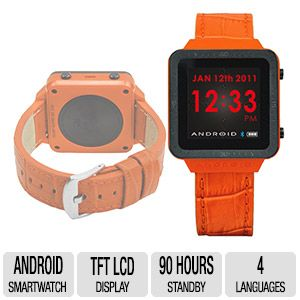 ANDROID� Unisex Digital Display Quartz Smart Watch