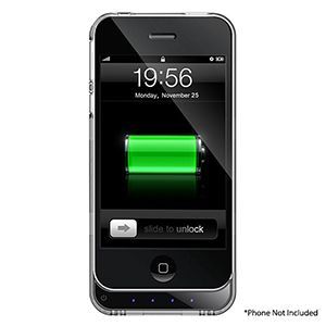 MOTA Extended Battery Case Works w/ iPhone® 4/4S