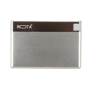 MOTA Credit Card Power Bank Silver