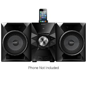 Sony Hi-Fi System with Cradle for iPhone® 5 REFURB