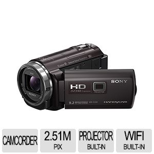 Sony Handycam Black Camcorder with Projector