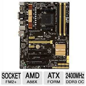ASUS A88X-PLUS - motherboard - ATX - Socket FM2+