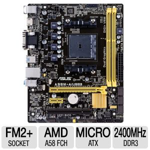 ASUS A58M-A/USB3 Micro-ATX Motherboard
