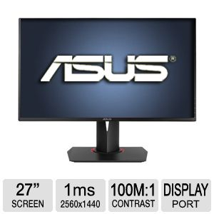 "ASUS ROG SWIFT PG278Q 27"" 3D LED Monitor"