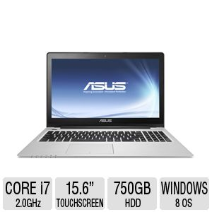 Asus VivoBook Notebook - Core i7, 8GB, 15.6""