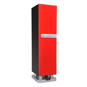 Sylvania Wireless Red Mini Tower Speaker