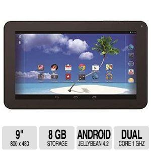 "Proscan 9"" 8GB Android 4.2 Tablet"