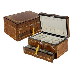 Quality Importers The Lady Bird Jewelry Box