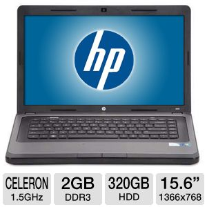 "HP 15.6"" Celeron 320GB HDD Notebook"
