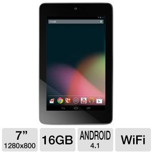 ASUS Google Nexus 7 16GB Android JB 4.1 Tablet