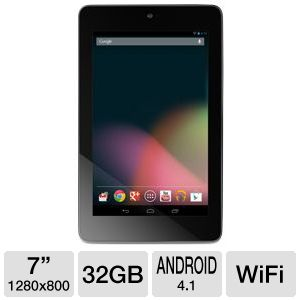 ASUS Google Nexus 7 32GB Android JB 4.1 Tablet