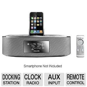 Philips Docking Clock Radio for iPod�/iPhone�