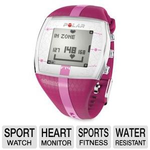Polar FT4 Water Resistant Time &amp; Heart Watch 