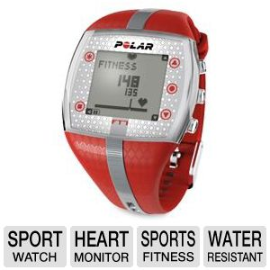 Polar FT4 Water Resistant Time & Heart Watch