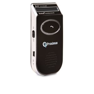 Proximus Bluetooth Solar Powered Hands Free Kit