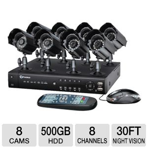 Proximus 8 Channel 500GB Video Security Kit