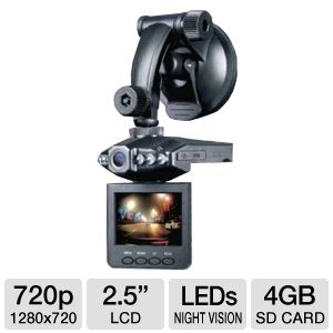 Proximus High Definition Car DVR