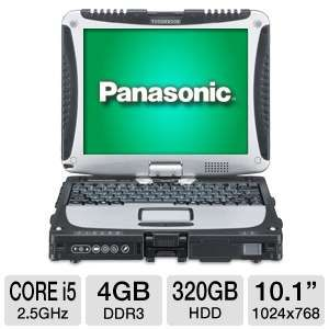 "Panasonic 10.1"" Core i5 320GB HDD Notebook"