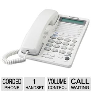 Panasonic KX-TS208WH Corded Phone System
