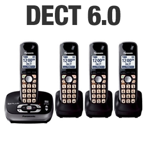 Panasonic KX-TG4034B Digital Cordless Phone
