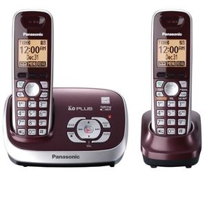 Panasonic KX-TG6572R Digital Cordless Phone