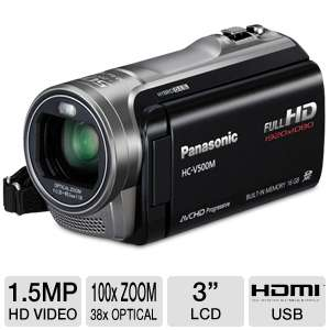 Panasonic HD Digital Camcorder