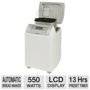 Panasonic LCD Display Automatic Bread Maker
