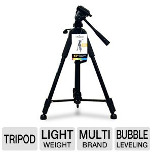 "Polaroid 57"" Tripod Black Color"