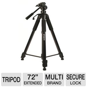 Polaroid 72&quot; Black Tripod