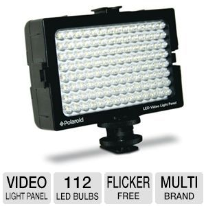Polaroid 112 Bulb LED Video Light Panel