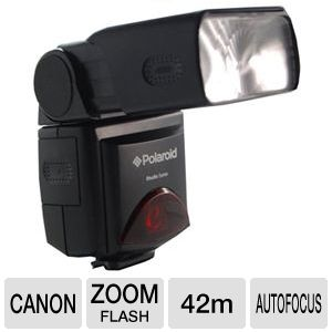 Polaroid PL-126PZ Zoom Flash for Canon SLR