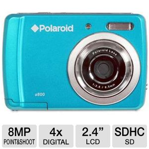 Polaroid CAA800QC 8MP Digital Camera