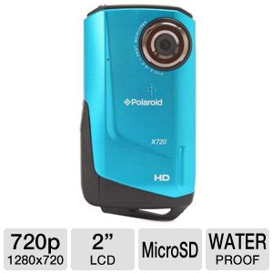 Polaroid HD HDMI Port Waterproof Camcorder