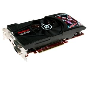 PowerColor Radeon HD 6850 1GB DDR5 PCIe 2.1