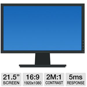 "Dell 21.5"" Widescreen LED Monitor"