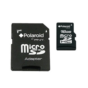 Polaroid P-SDU16G2-FS/POL Micro SD 16 GB Class 2 C