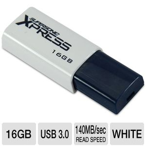 Patriot 16GB Supersonic Xpress Flash Drive