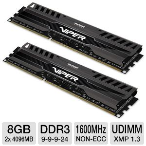 Patriot Viper 3 8GB Memory Module Kit