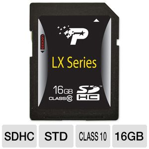Patriot Signature 16GB SDHC Flash Memory Card