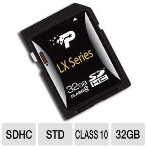Patriot 32GB Signature SDHC Card