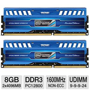 Patriot Viper 3 Intel 8GB Memory Kit
