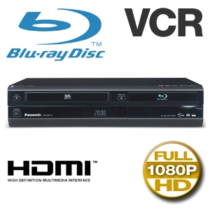 Panasonic DMPBD70V  Blu-ray Player with VHS Combo