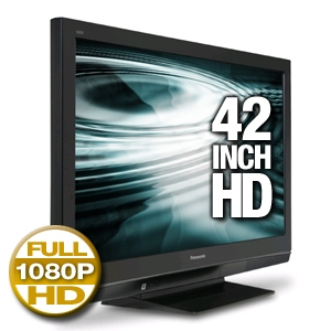 Panasonic TH42PZ80U Plasma HDTV