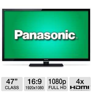 "Panasonic TCL47E50 47"" 1080p 120Hz LED HDTV"